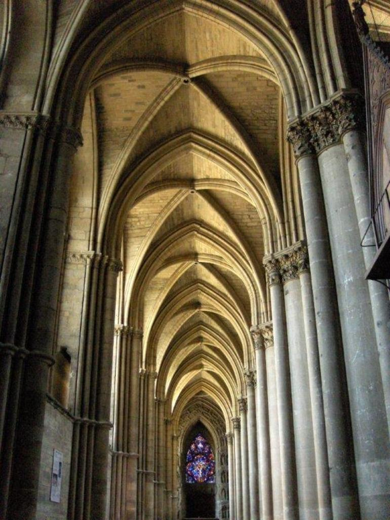 View of the Cathedral of Rheims - Paris