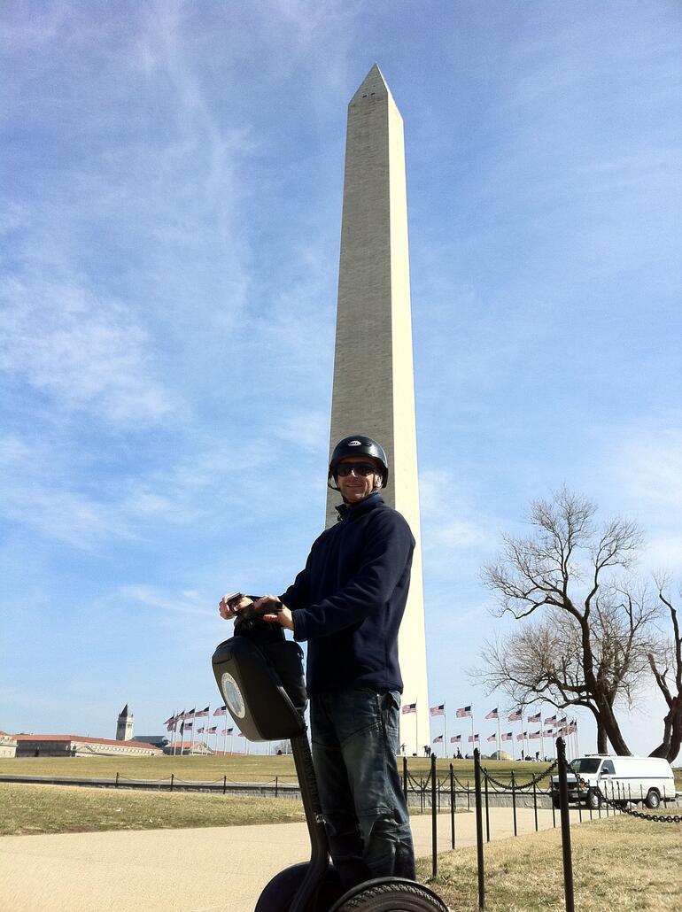 Washington Monument and Rob. - Washington DC