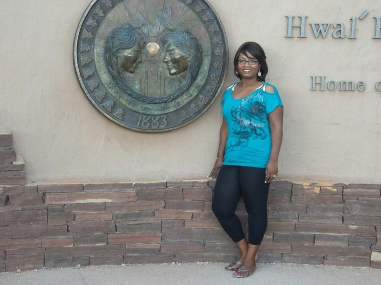 With the Hualapai Seal - Las Vegas