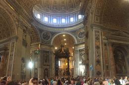 Saint Peter's Basilica , Tom H - September 2016