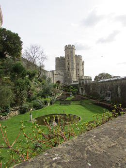 Grounds at Windsor Castle. You can't take pictures inside the castle. , Julie W - March 2017