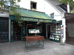 Shakespeare and Company also appears in several films. , Alan D S - July 2017