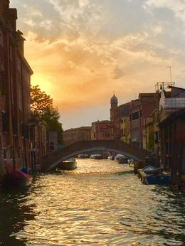 Grand Canal and a soft sunset , Linda V - August 2017