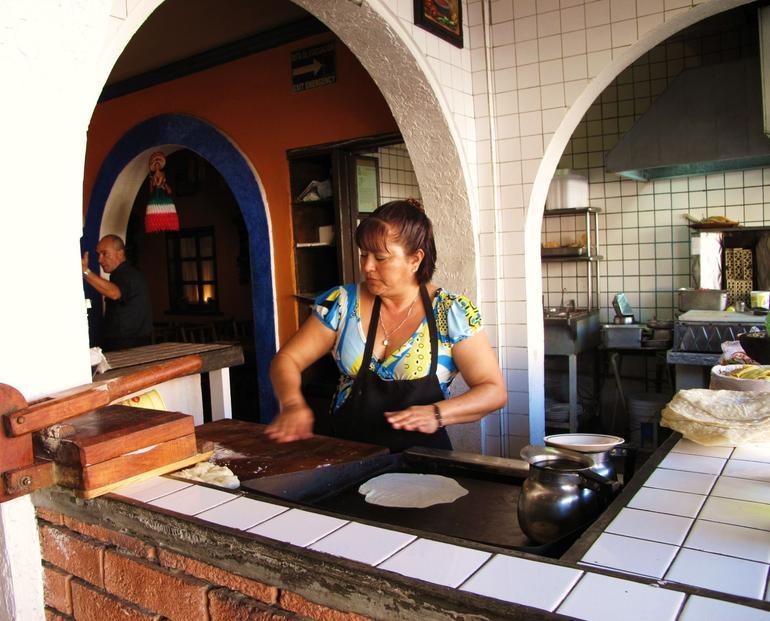 At La Placita Restaurant - San Diego