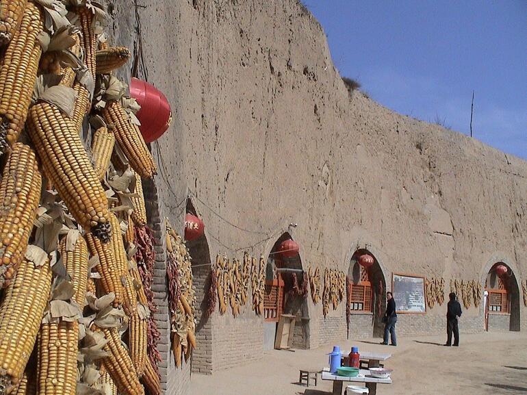 Cave Dwellings - Xian