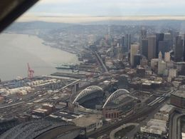 Checking out where the Seahawks play, taylor - March 2015