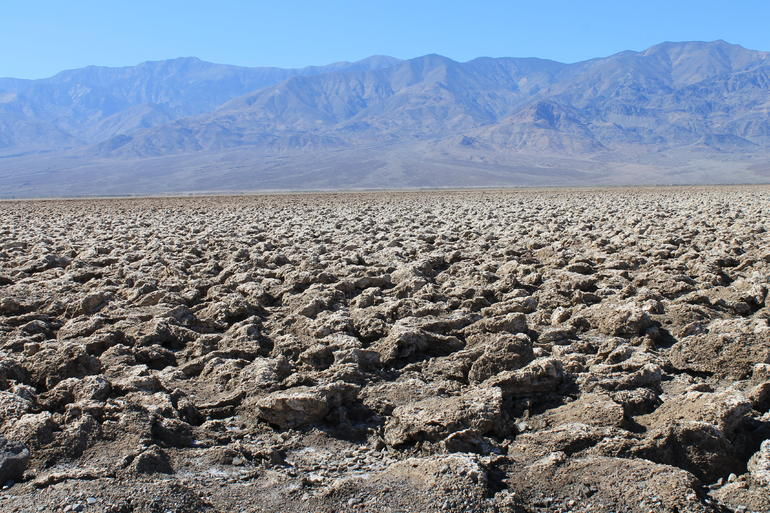 Death Valley landscape - Las Vegas
