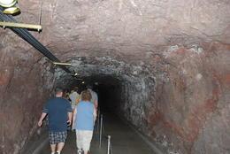 inside the dam tunnels , peter - September 2011