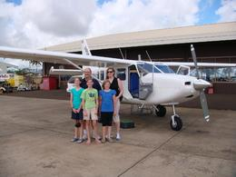 The kids loved the flight - the smooth takeoff/landing, the views of Waimea Canyon, Na Pali coast, and the lush green volcanic slopes., Ian A - April 2008