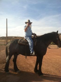 Me on big Goliath , Randall N - June 2013