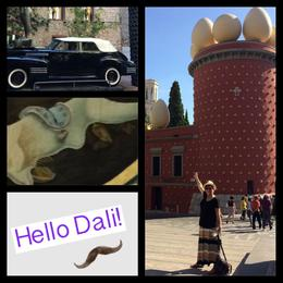 The photo is of me (Christine Milostan) and the Dali Museum , chris - October 2014