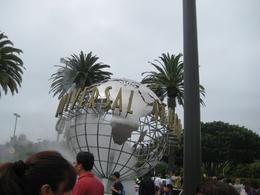 iconic universal studio globe, Clare B - July 2010