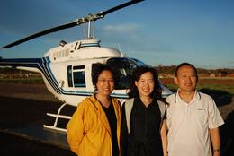 My parents and I., Jialin L - February 2009