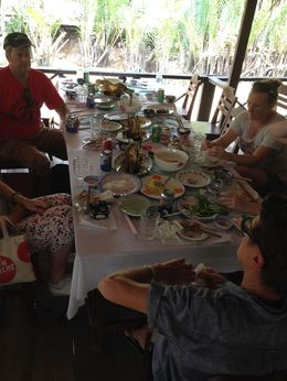 Amazing taste of local foods including elephant fish - gorgeous , Janine S - May 2015