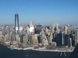 Manhattan vanuit heli , Gerarda - January 2014