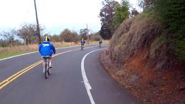 Biking down Haleakala! - February 2012