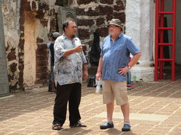 This guide was a pleasure to be with on our Malacca trip , paul w - July 2015