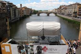 Pontevecchio Bridge from the Vasari Corridor. , John G - August 2014