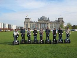 This is a pictures of our party towards the end of the tour with Reichstag in the background, Adrian A - October 2009