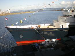 Royal Yacht: bow of the HMY Britannia - September 2010