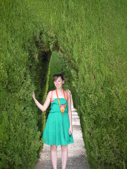 With some of the perfectly manicured plants, Laura All Over - August 2014