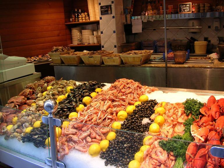 St Mahlo seafood - Paris