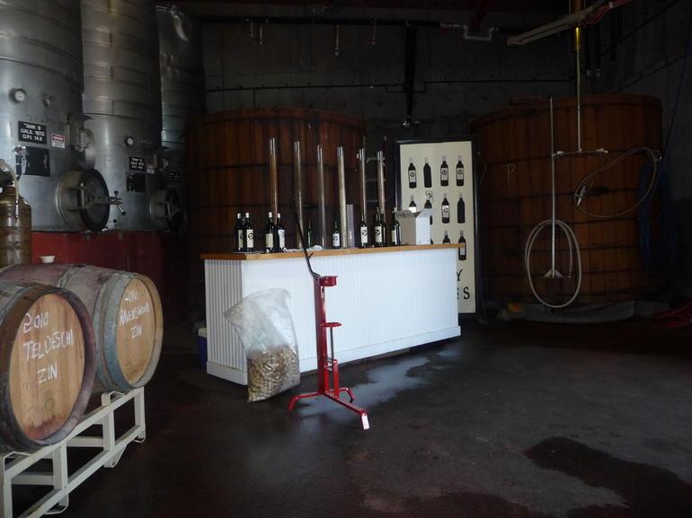 The bottling station - San Francisco
