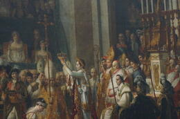 The and quot;Coronation of Emperor Napoleon and quot; in the Louvre Museum , Gordo - May 2014