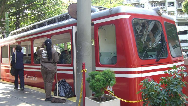 Train to Christ Redeemer - Rio de Janeiro