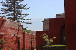 Monastery with the volcano in the background, Bandit - July 2014