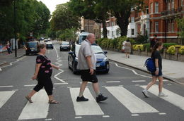My family and I crossing Abbey Road. , mdemski1 - July 2015