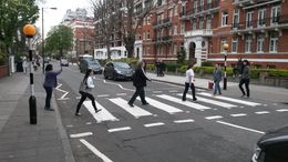 Here we crossing at Abbey Road , NEIL B - May 2015