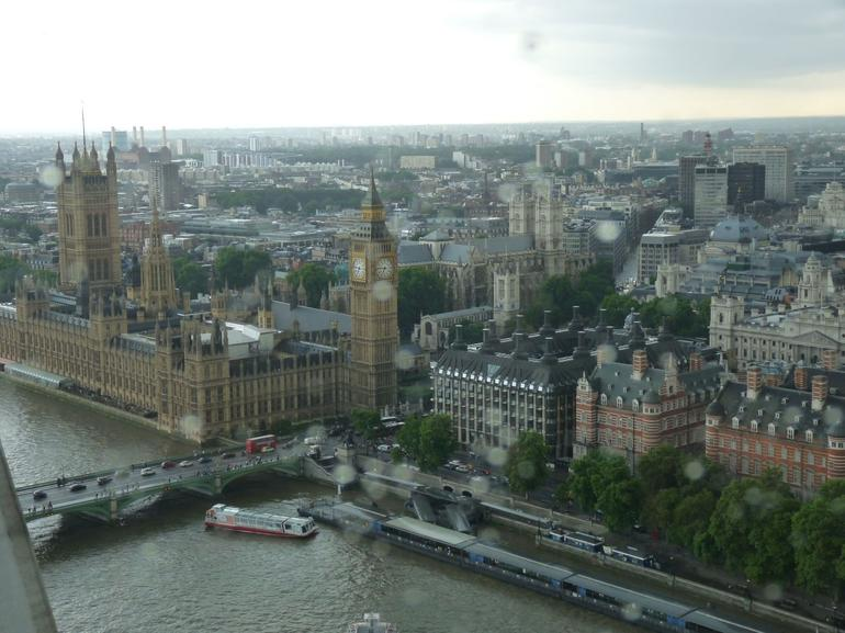Big Ben View from the London Eye - London