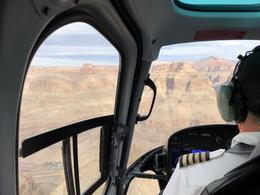 Canyon view from the cockpit. , Lemuel G - December 2017