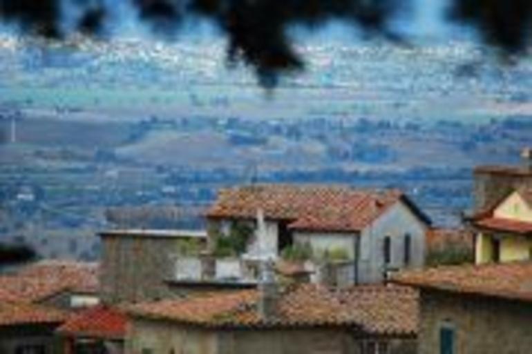 Cortona view - Rome
