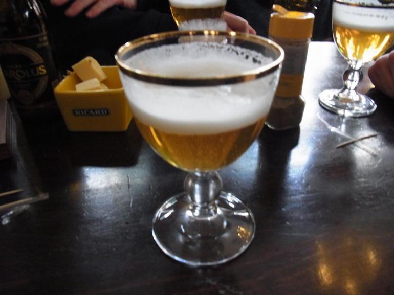 Eines der diversen Biere - Brussels