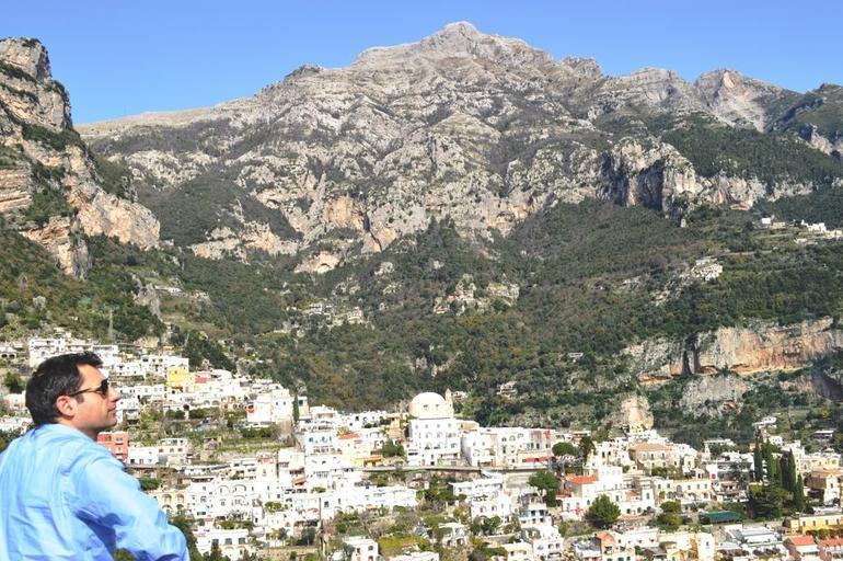 Enjoying our tour of the Amalfi coast. - Rome