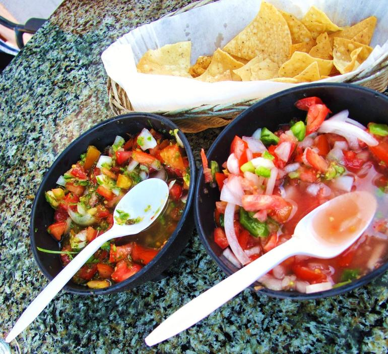 Fresh made Salsa - San Diego