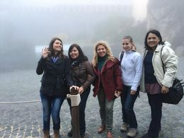 Group photo in the fog... : , Zurina Y. - December 2015