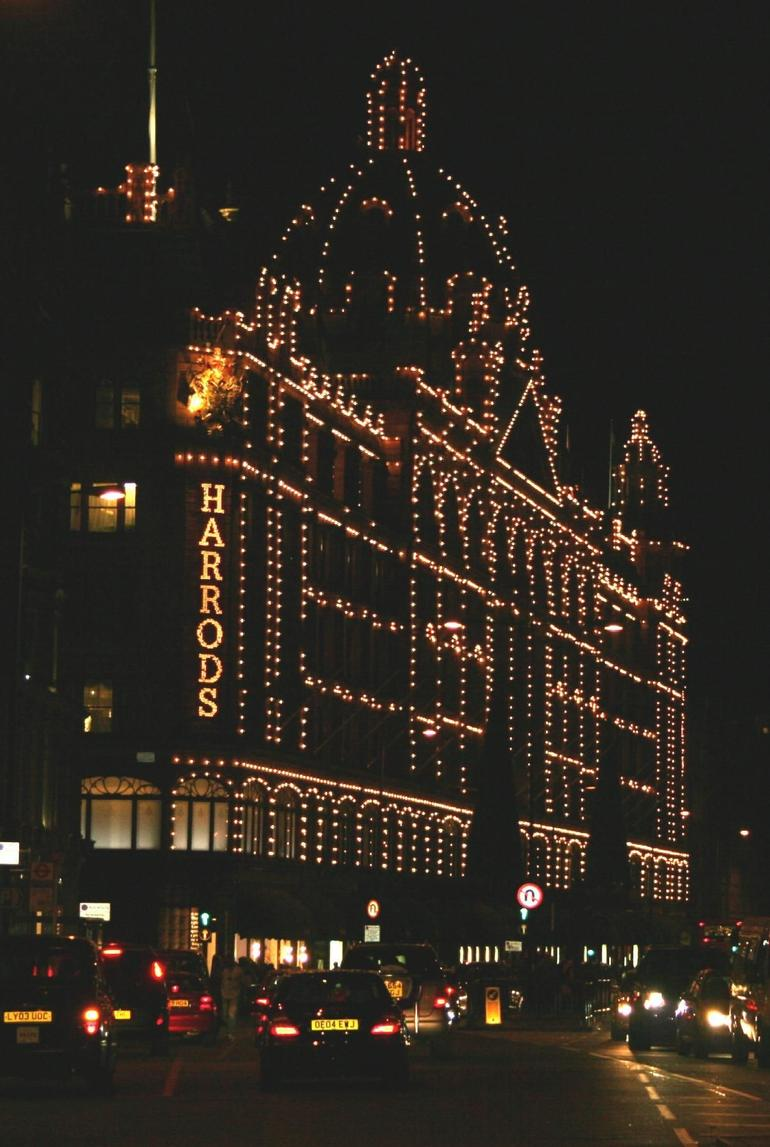 Harrods at Night - London