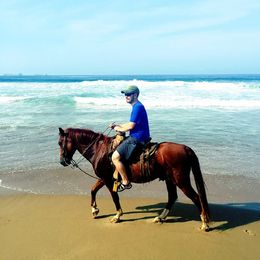 Horseback Riding on Playa Larga, mikerichard - August 2015