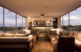 Lounge area on boat. - May 2012
