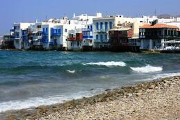 Little Italy in Mykonos, charming at day and night, SCV - March 2014