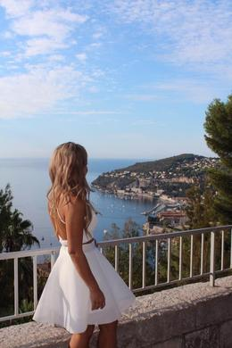 Stopover to take pictures along the French Riviera , Danya H - October 2016