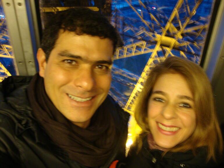 Noite inesquecível no 58 Eiffel - Paris