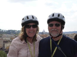 Pat and me resting a bit at the Circus Maximus , Jaybird - May 2011
