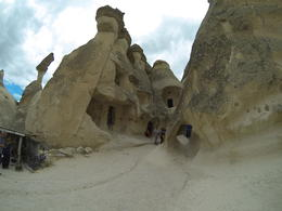These formations, quite similar to Inspiration Valley, were inhabited, Patricia P - July 2014