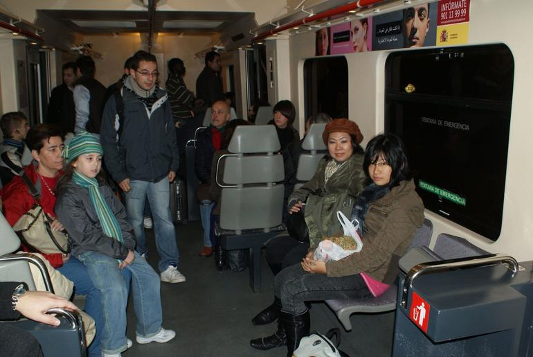 Renfe Ride to San Lorenzo de Escoril - Madrid