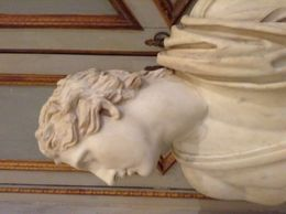 Photo of one the statues at the Borghese gallery. , Sharon M - May 2015