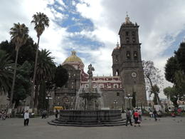 The main cathedral in Puebla. , Kevin F - May 2013